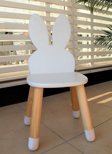 Beyaz Tavşan Sandalyesi-LaMoneta